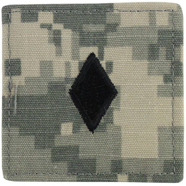 Army ROTC ACU Rank w/hook closure: Major (Maj)