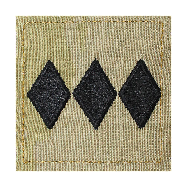 Army ROTC OCP Rank w/hook closure : Colonel (Col)