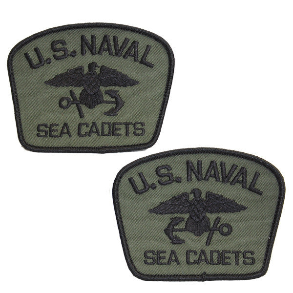 USNSCC - Flash Olive Drab with Black (Pair L&R) for Cadets