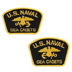 USNSCC - Flash Black with Yellow (Pair L&R) for Cadets