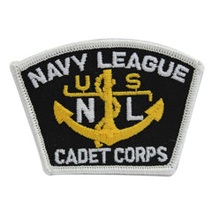 USNSCC / NLCC - Naval League Cadet Corps for Blue Digital Embroidered Cap Device