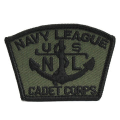 NLCC - Naval League Cadet Corps for BDU Embroidered Cap Device