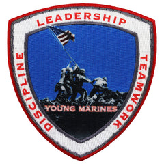 Young Marines Iwo Jima Patch With Velcro