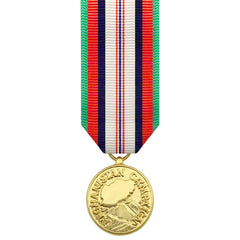 Miniature Medal-24k Gold Plated: Afghanistan Campaign