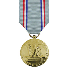 Full Size Medal: Air Force Good Conduct - 24k Gold Plated