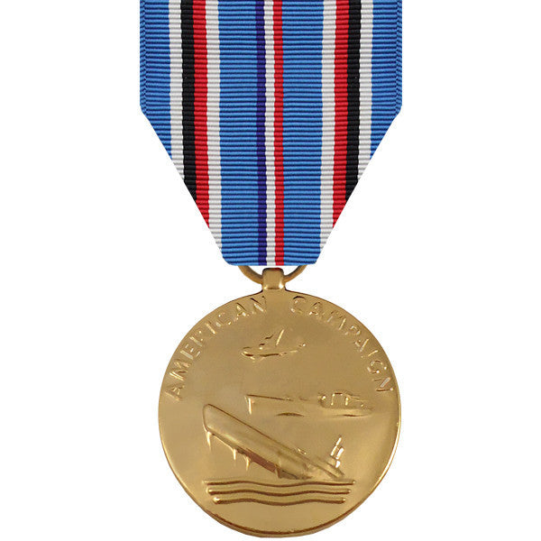 Full Size Medal: American Campaign - anodized