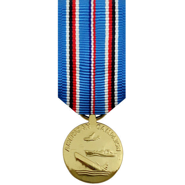 Miniature Medal-Anodized: American Campaign