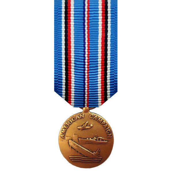 Miniature Medal: American Campaign