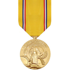 Full Size Medal: American Defense Service - anodized