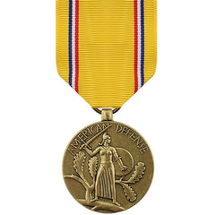 Full Size Medal: American Defense Service