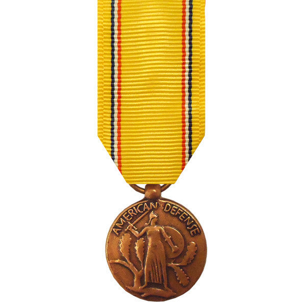 Miniature Medal: American Defense Service
