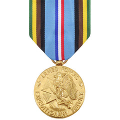 Full Size Medal: Armed Forces Expeditionary - 24k Gold Plated