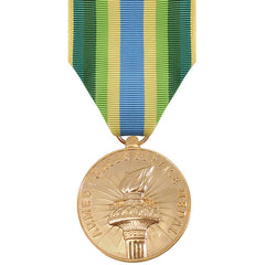 Full Size Medal: Armed Force Service Medal - anodized