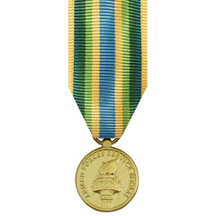 Miniature Medal- 24k Gold Plated: Armed Forces Service