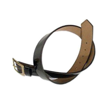 Marine Corps Belt: Garrison - porvair with brass buckle