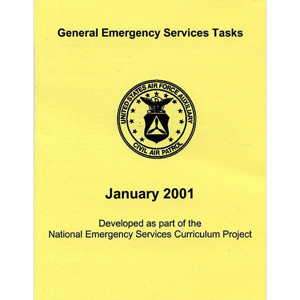 Civil Air Patrol Training Materials: General Emergency Services Tasks