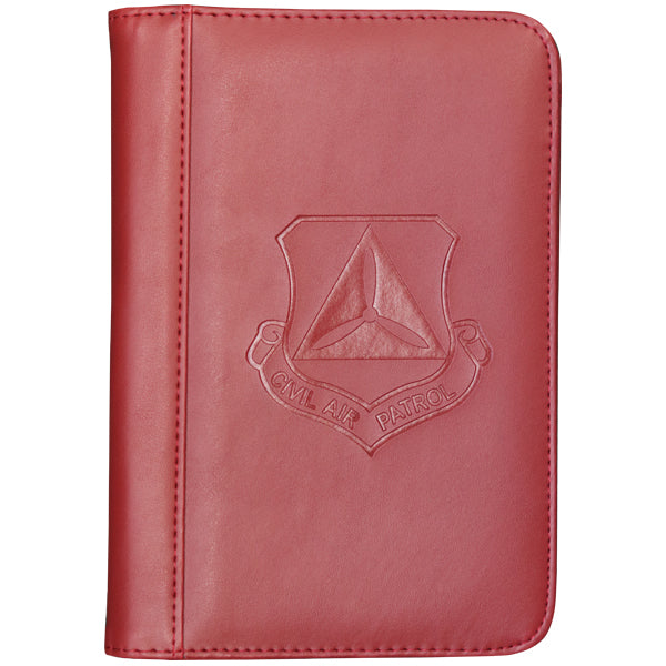 Civil Air Patrol Conference Pad Holder: Red