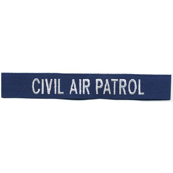 Civil Air Patrol Tape: Embroidered Civil Air Patrol