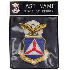 Civil Air Patrol Blazer Name Plate Kit: No Rank