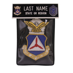 Civil Air Patrol Blazer Name Plate Kit: CMSGT