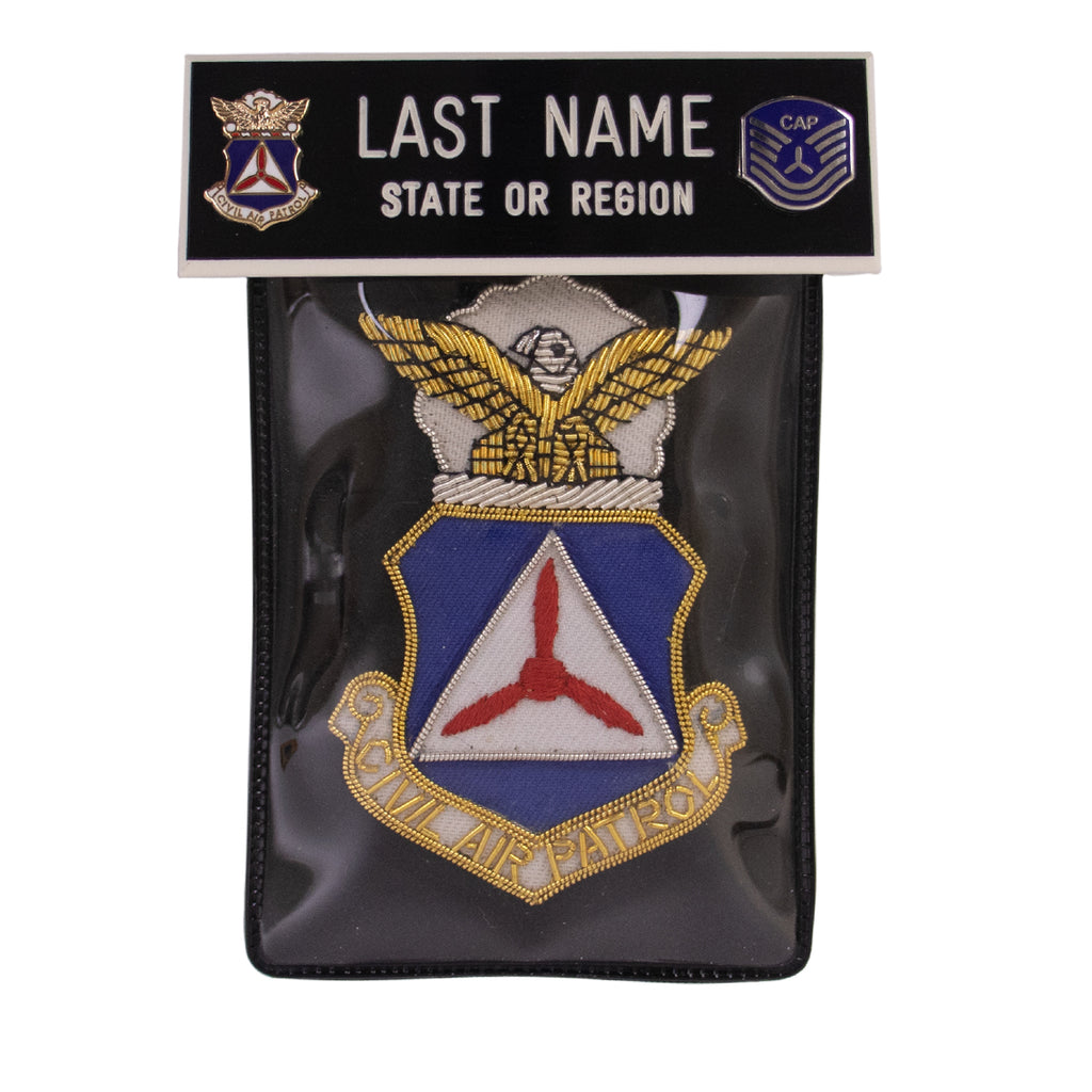 Civil Air Patrol Blazer Name Plate Kit: TSGT