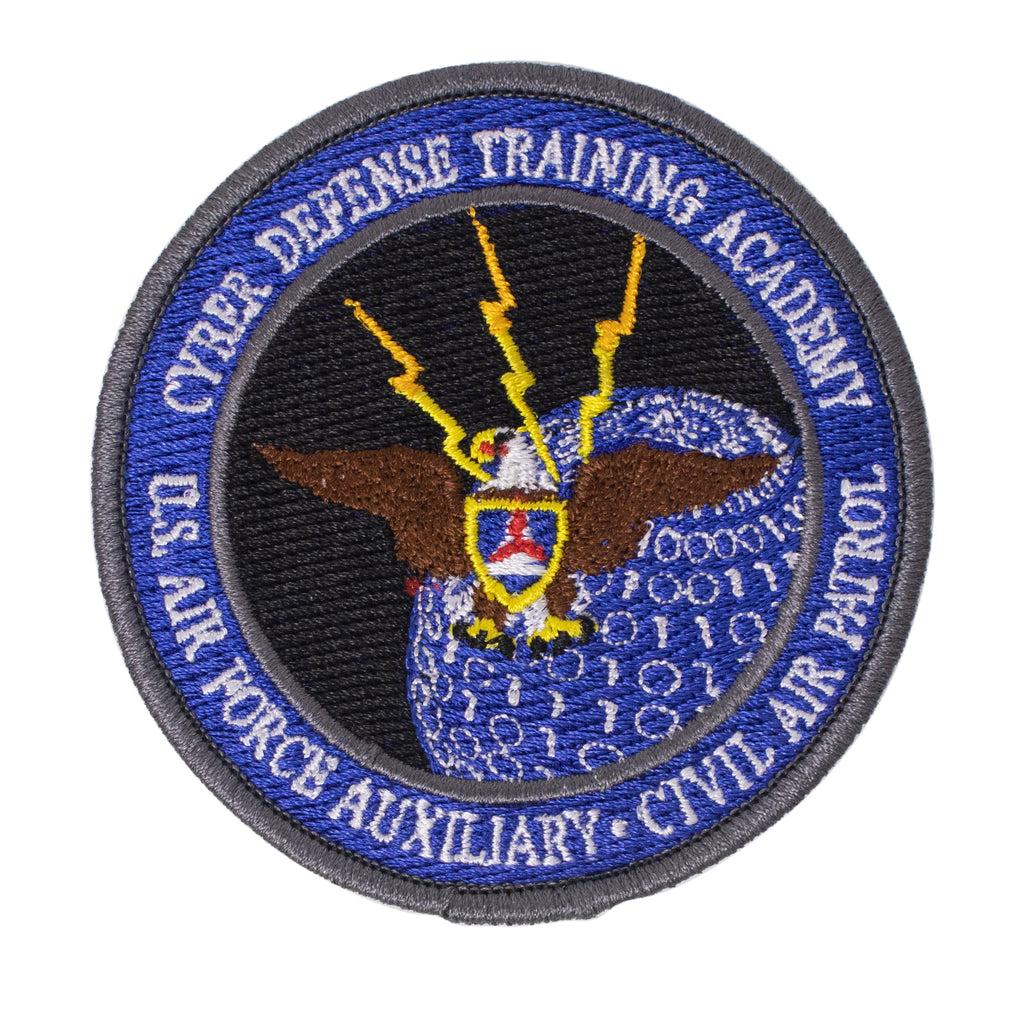 Civil Air Patrol Patch: Cyber Defense Training Academy
