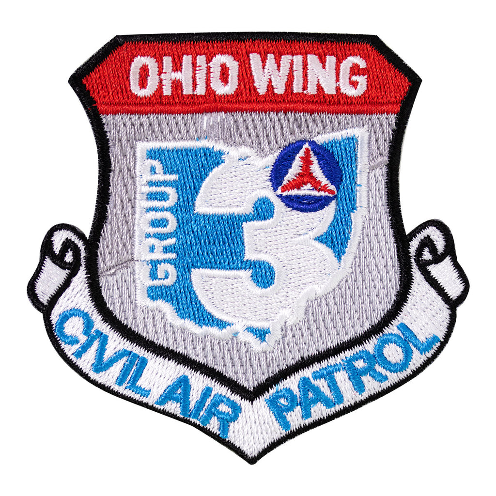 Civil Air Patrol Patch: Ohio Group 3