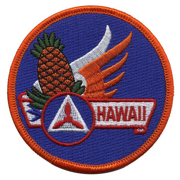Civil Air Patrol Patch: Hawaii Wing