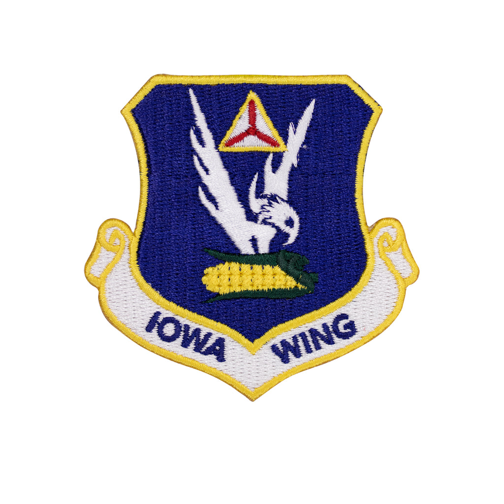 Civil Air Patrol Patch: Iowa Wing w/ HOOK