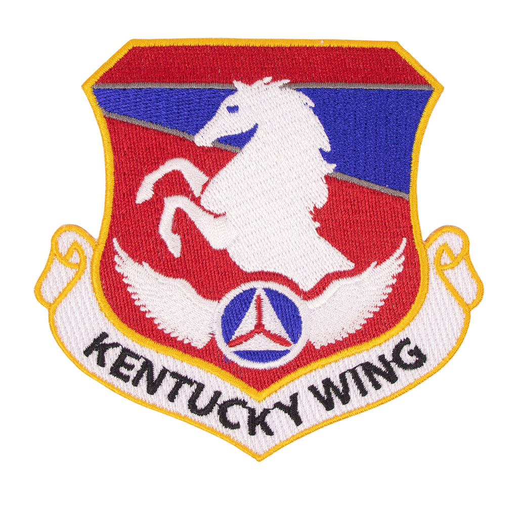 Civil Air Patrol Patch: Kentucky Wing w/ HOOK