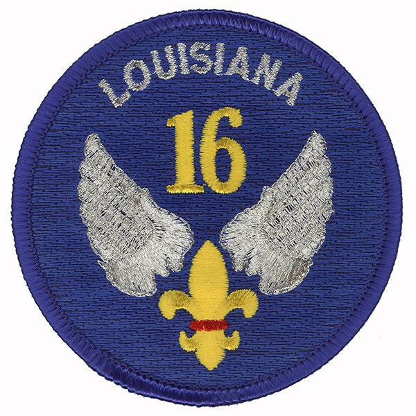 Civil Air Patrol Patch: Louisiana Wing