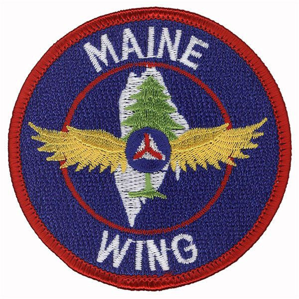 Civil Air Patrol Patch: Maine Wing w/ HOOK