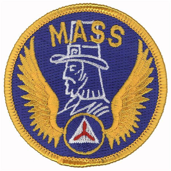 Civil Air Patrol Patch: Massachusetts Wing w/ Hook