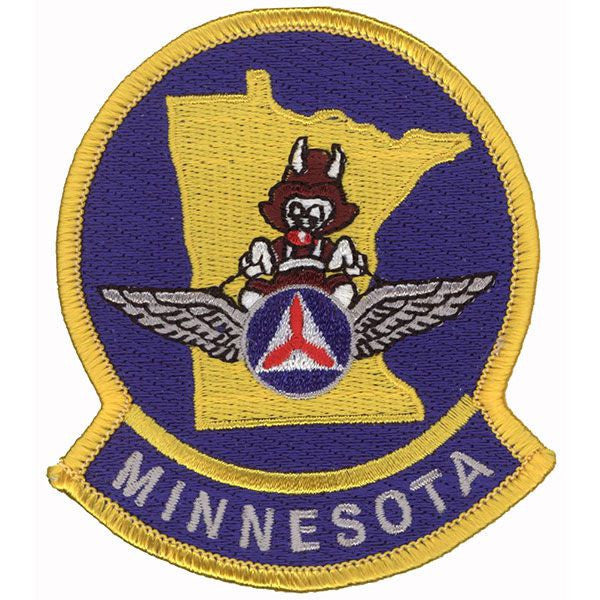 Civil Air Patrol Patch: Minnesota Wing w/ HOOK