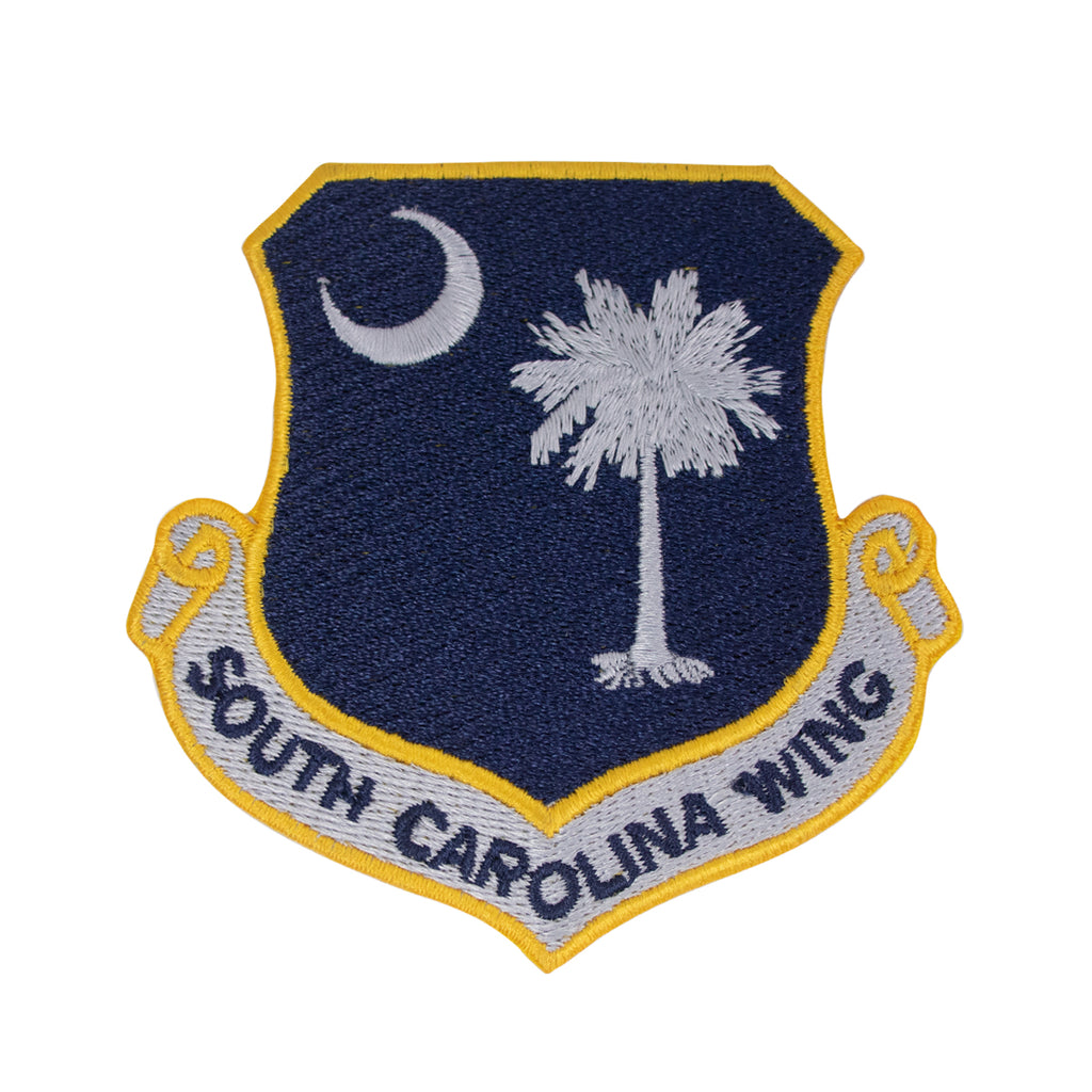 Civil Air Patrol Patch: South Carolina Wing w/ HOOK