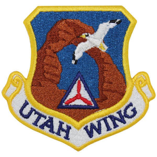 Civil Air Patrol Patch: Utah Wing w/ HOOK