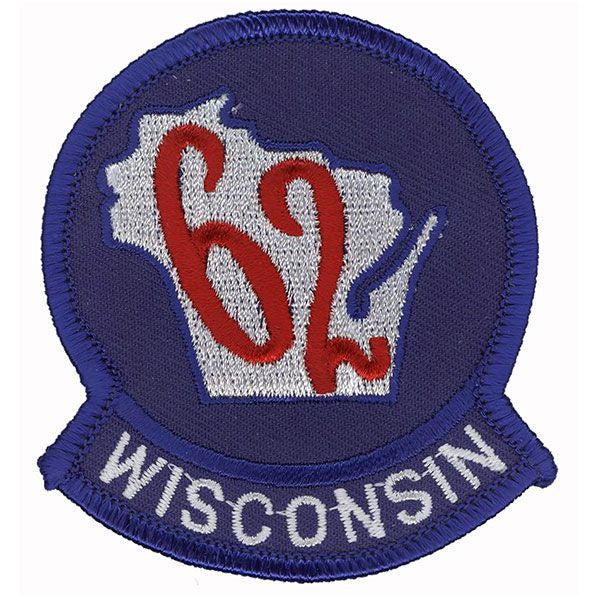 Civil Air Patrol Patch: Wisconsin Wing w/ HOOK