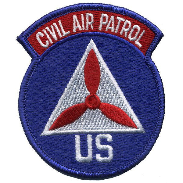 Civil Air Patrol Patch: Overseas Wing
