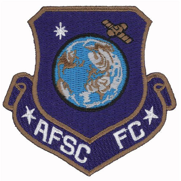 Civil Air Patrol Patch: Air Force Space Command Familiarization Course