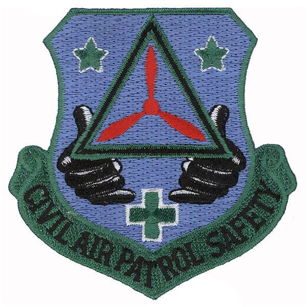 Civil Air Patrol Patch: Safety