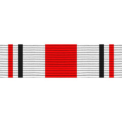 Civil Air Patrol Ribbon: Service: Senior and Cadet - red