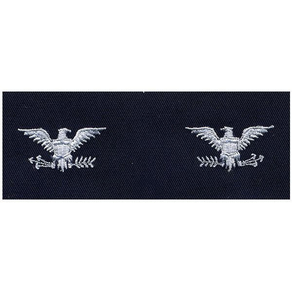 Civil Air Patrol Senior Grade Cloth Insignia: Colonel - navy blue