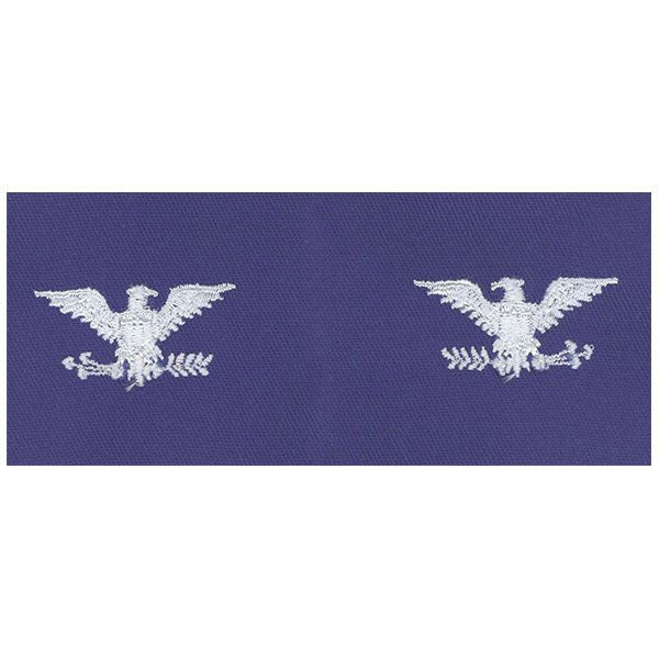 Civil Air Patrol Senior Grade Cloth Insignia: Colonel - ultramarine blue