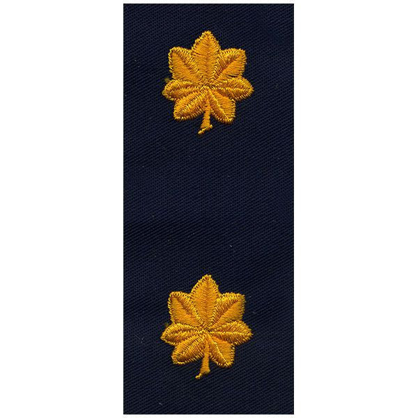 Civil Air Patrol Senior Grade Cloth Insignia: Major - navy blue