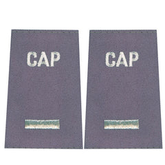 Civil Air Patrol Grey Epaulet: First Lieutenant - female