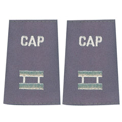 Civil Air Patrol Grey Epaulet: Captain - female