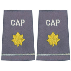 Civil Air Patrol Grey Epaulet: Major - female