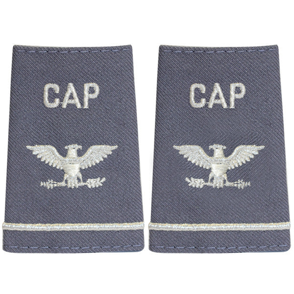 Civil Air Patrol Grey Epaulet: Colonel - female