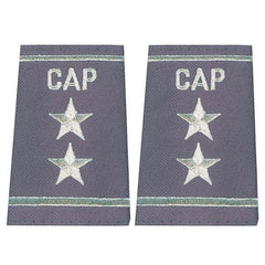 Civil Air Patrol Grey Epaulet: Major General - female