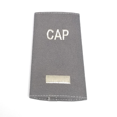 Civil Air Patrol Grey Epaulets: First Lieutenant - male